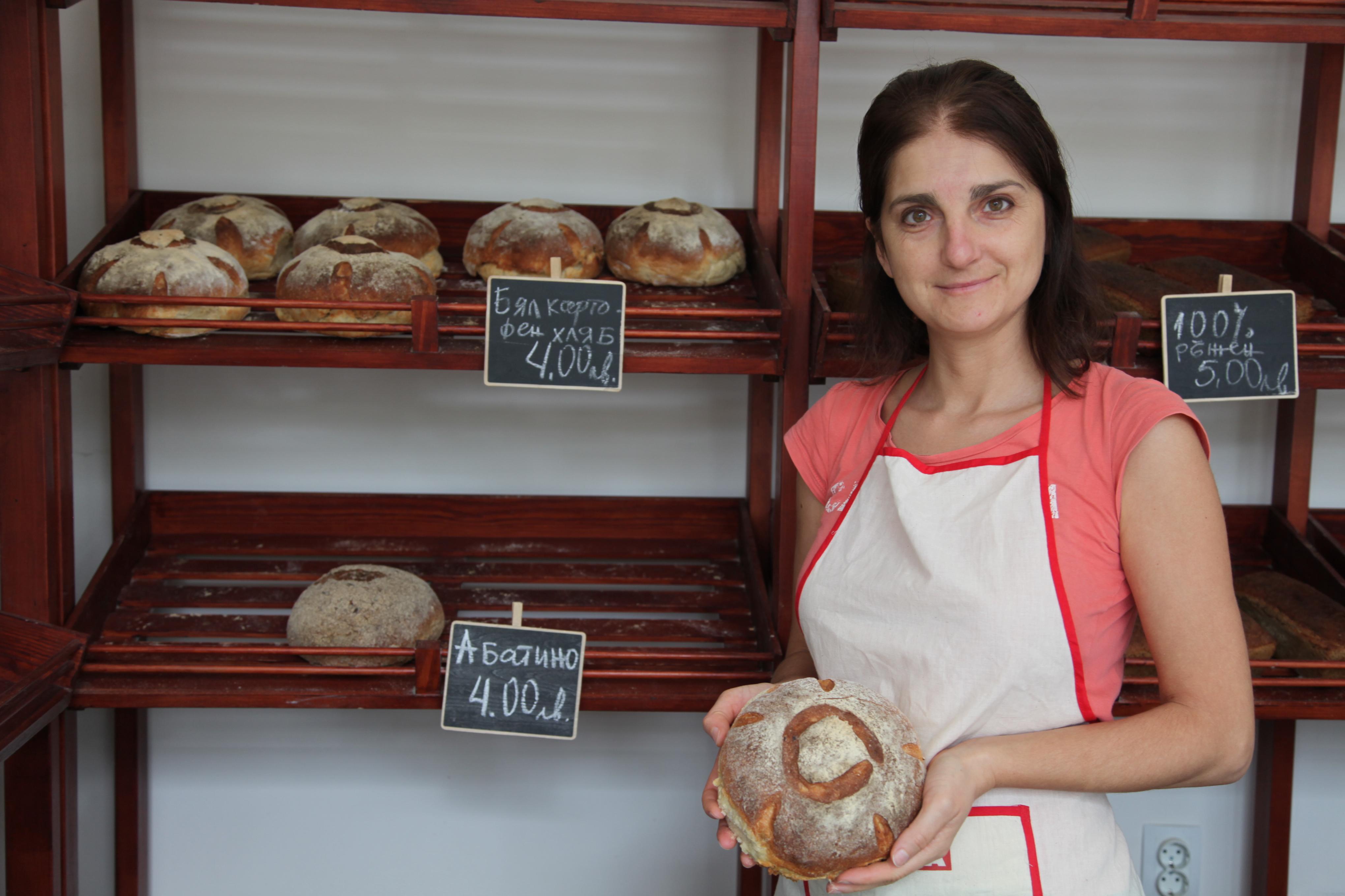 Павлина – майка на три деца и майстор пекар на бутиков хляб