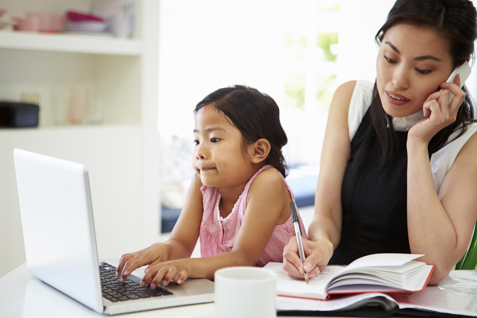 10 мита за майките с малки деца в бизнеса