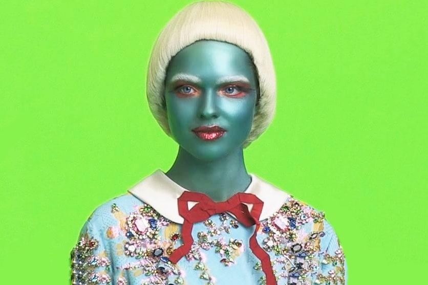 Новата кампания с извънземни на Gucci