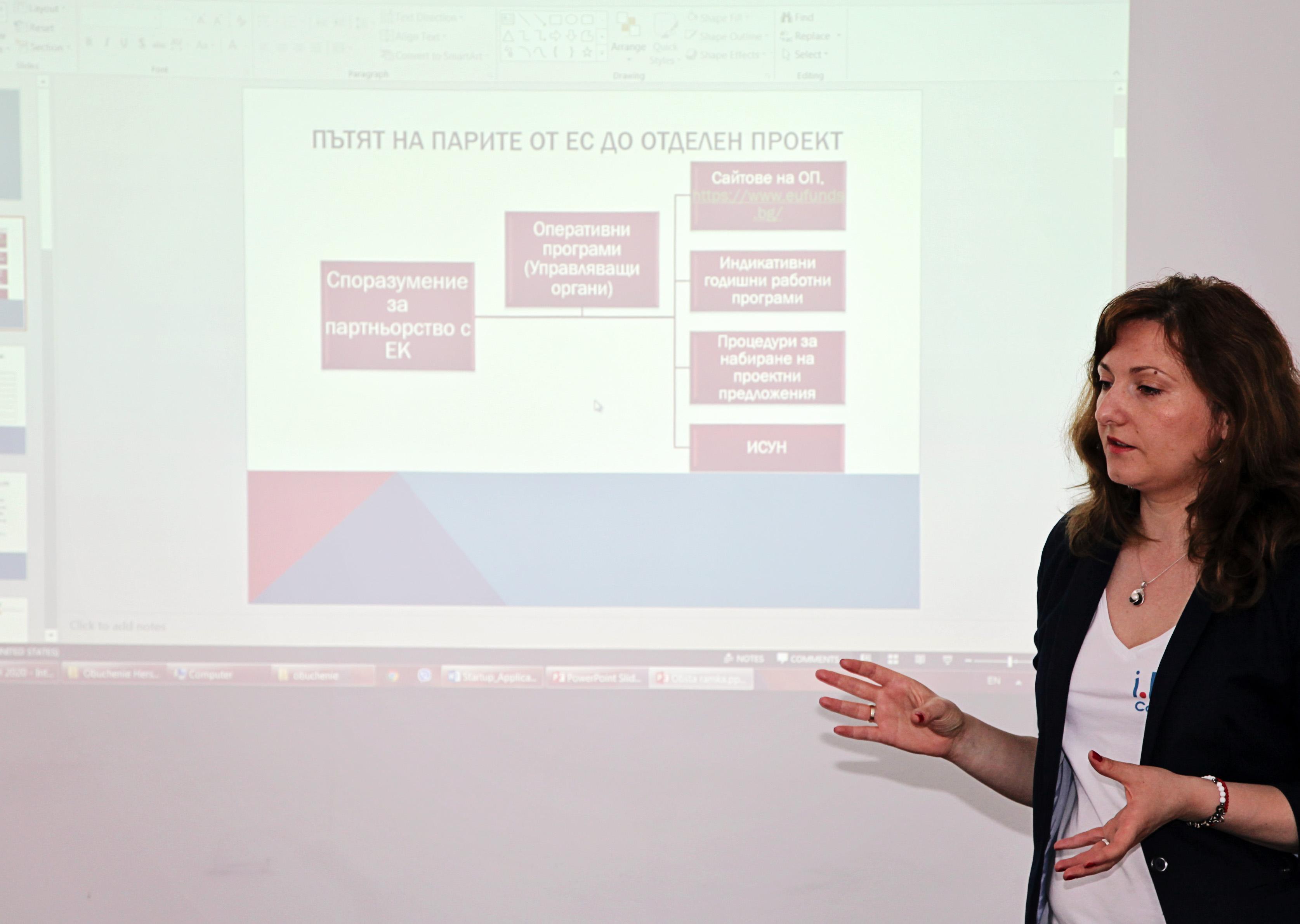 Събитие разработване на успешен проект с Европейско финансиране за стартиращ бизнес